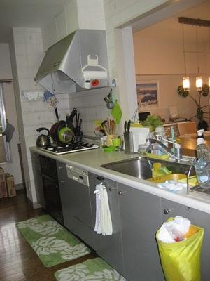 Before,既設システムキッチン