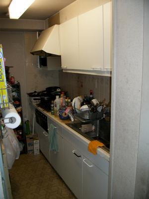 外国製キッチン? 型式不明