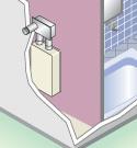 屋内壁掛強制排気型
